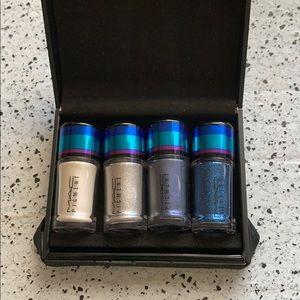 NWT MAC Cosmetics Blue Irresistibly Charming Glitt